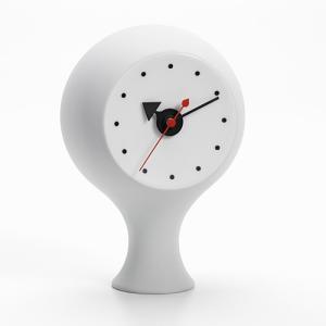 プレミアム会員限定!ポイント最大32倍|置時計|Vitraヴィトラ Ceramic Clock セラミック クロック MODEL#1 ライトグレー|yamagiwa
