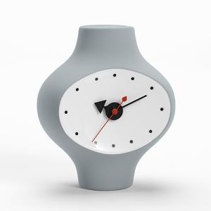 プレミアム会員限定!ポイント最大32倍|置時計|Vitraヴィトラ Ceramic Clock セラミック クロック MODEL#3 ダークグレー|yamagiwa