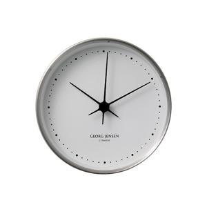 Georg Jensen (ジョージ ジェンセン)掛時計HK(エイチケー)ウォールクロック 22cm|yamagiwa