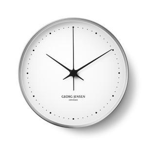 Georg Jensen (ジョージ ジェンセン)掛時計HK(エイチケー)ウォールクロック 30cm|yamagiwa