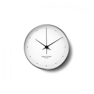 Georg Jensen (ジョージ ジェンセン)掛時計HK(エイチケー)ウォールクロック 10cm|yamagiwa