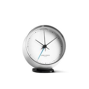 Georg Jensen (ジョージ ジェンセン)掛時計HK(エイチケー)アラームクロック(ホルダー付き)10cm|yamagiwa
