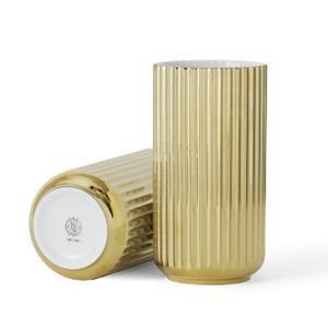 5のつく日 ポイント最大26倍!25(月)|リュンビューポーセリン Lyngby Vase(リュンビューベース) ゴールド φ10×H20|yamagiwa