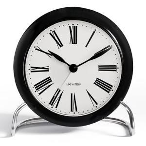 プレミアム会員限定!ポイント最大32倍|ローゼンダール 置時計 「Arne Jacobsen TableClock ROMAN (ローマン)」|yamagiwa