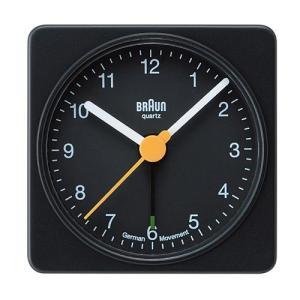 増税前に使える1,000円OFFクーポン|BRAUN(ブラウン) 置時計 「ALARM CLOCK( アラームクロック) BC02B」ブラック|yamagiwa
