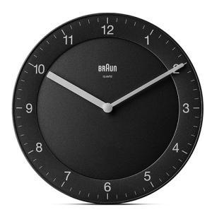 BRAUN(ブラウン)掛時計 「Wall Clock(ウォールクロック) 996BC06B」ブラック|yamagiwa