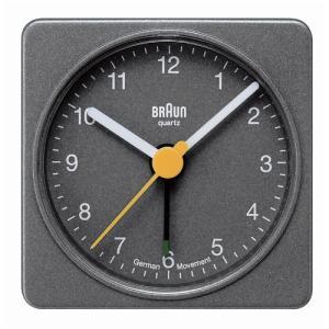 【簡単エントリーで最大14倍!(2/24 23:59まで)】BRAUN 「 ALARM CLOCK BNC002」グレー (BRAUNDAY)|yamagiwa