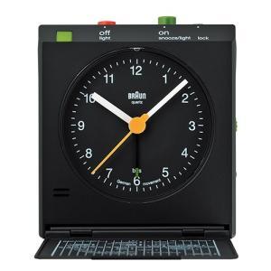 BRAUN(ブラウン) 「Reflex controlled travel alarm clock BNC005」ブラック|yamagiwa