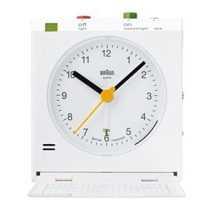 BRAUN(ブラウン) 「Reflex controlled travel alarm clock BNC005」ホワイト|yamagiwa