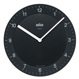 BRAUN(ブラウン )「 Wall Clock  BNC006」ブラック|yamagiwa