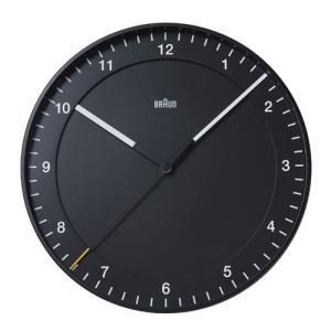 プレミアム会員限定!ポイント最大32倍|BRAUN(ブラウン) 「Wall Clock(ウォールクロック)BNC017」ブラック|yamagiwa