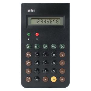 BRAUN ( ブラウン )「 Calculator ( 電卓 ) 」ブラック|yamagiwa