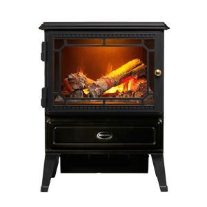 DIMPLEX(ディンプレックス)電気暖炉 Glasgow(グラスゴー)ブラック 3〜8畳用|ヤマギワ