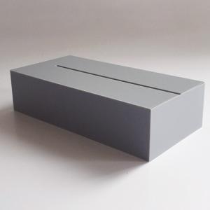 インテリア|アクリルオブジェAIR FRAME(エアフレーム)「IDIOM / TISSUE」グレー[996ID303GY]|yamagiwa