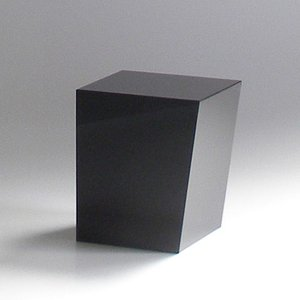 ゴミ箱 おしゃれ インテリア AIR FRAME(エアフレーム)「IDIOM DUST BOX S」 ブラック yamagiwa