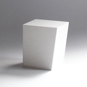 ゴミ箱 おしゃれ インテリア AIR FRAME(エアフレーム)「IDIOM DUST BOX S」 ホワイト yamagiwa