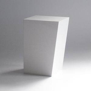ゴミ箱 おしゃれ インテリア|AIR FRAME(エアフレーム)「IDIOM DUST BOX M」 ホワイト|yamagiwa