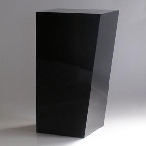 ゴミ箱 おしゃれ インテリア AIR FRAME(エアフレーム)「IDIOM DUST BOX L」 ブラック yamagiwa