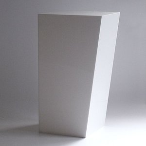 ゴミ箱 おしゃれ インテリア AIR FRAME(エアフレーム)「IDIOM DUST BOX L」 ホワイト yamagiwa