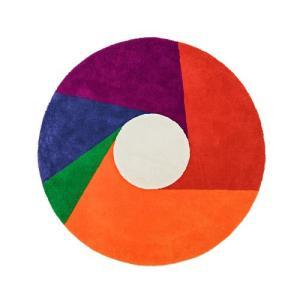 プレミアム会員限定!ポイント最大32倍|METROCS(メトロクス)「マックス・ビル ラグ color wheel(カラーホイール)」1600|yamagiwa