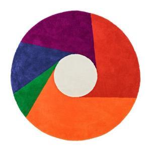 プレミアム会員限定!ポイント最大32倍|METROCS(メトロクス)「マックス・ビル ラグ color wheel(カラーホイール)」1800|yamagiwa