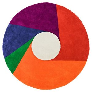 METROCS(メトロクス)「マックス・ビル ラグ color wheel(カラーホイール)」2000(受注品)|yamagiwa
