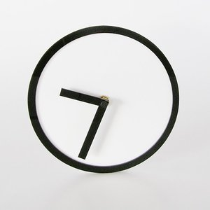 プレミアム会員限定!ポイント最大27倍|AIR FRAME(エアフレーム)「PICTO CLOCK」 ホワイト|yamagiwa