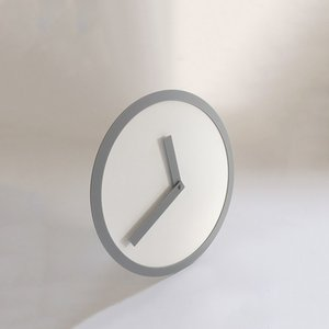 プレミアム会員限定!ポイント最大27倍|AIR FRAME(エアフレーム)「PICTO CLOCK S」グレー×ホワイト[996PC138GYWH]|yamagiwa