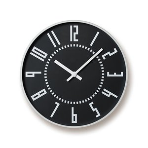 Lemnos(レムノス)「eki clock(エキクロック)」ブラック
