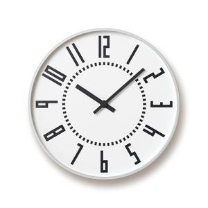 Lemnos(レムノス)「eki clock(エキクロック)」ホワイト|yamagiwa