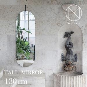 インテリア|フレームレスMOEBE(ムーベ)「TALL WALL MIRROR(トールウォールミラー)」ブラス[996wmbl133]|yamagiwa