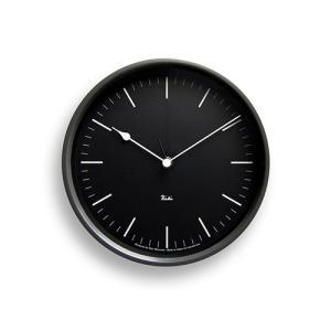 026e557fda7 ポイント最大27倍|レムノス Lemnos「Riki Steel Clock」 電波時計/ダークグレー