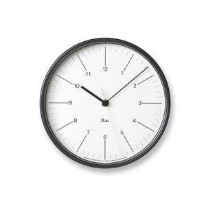 プレミアム会員限定!ポイント最大27倍|レムノス Lemnos「Riki Steel Clock」 電波時計/ホワイト|yamagiwa