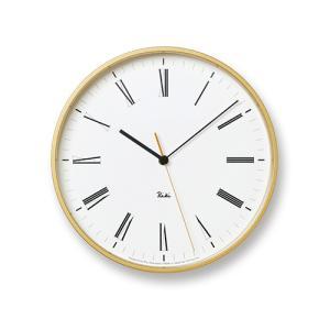 プレミアム会員限定!ポイント最大27倍|レムノス Lemnos「Riki Roman Clock」|yamagiwa