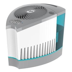 ボルネード「Vornado Evap3-JPWH 気化式加湿器」ホワイト/クリアブルー|yamagiwa