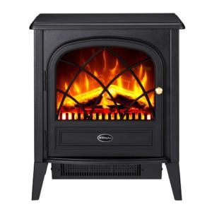 DIMPLEX(ディンプレックス) 電気暖炉 Ritz(リッツ) ブラック|yamagiwa