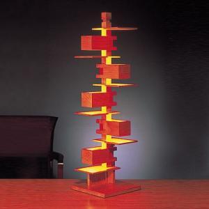 プレミアム会員限定!ポイント最大27倍|テーブル照明|フランクロイドライト 「タリアセン3」チェリー|yamagiwa