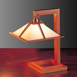 プレミアム会員限定!ポイント最大27倍|テーブル照明|フランクロイドライト 「タリアセン1」 チェリー|yamagiwa