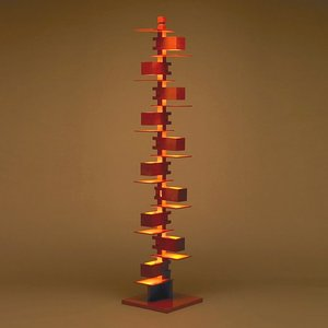 フロア照明|(OUTLET)フランクロイドライト 「タリアセン2」 チェリー(箱破損品)|yamagiwa