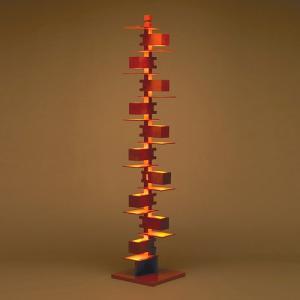 (OUTLET)フランク・ロイド・ライト「タリアセン2」 チェリー(箱破損品)|yamagiwa