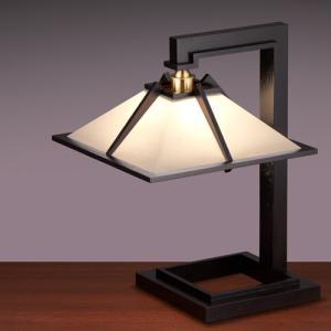 プレミアム会員限定!ポイント最大27倍|テーブル照明|フランクロイドライト 「タリアセン1」 ブラック|yamagiwa