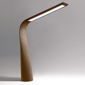 (OUTLET)yamagiwa(ヤマギワ)  テーブル照明 「MOONBIRD」 ウォールナット|yamagiwa