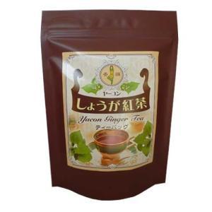 【山口県】【光市】【三井ヘルプ】【ヤーコン】ヤーコンしょうが紅茶×10袋|yamaguchikaiseidou