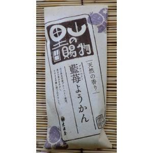 【山口県】【周南市鹿野】【大田屋】ブルーベリー羊羹(10000352)|yamaguchikaiseidou