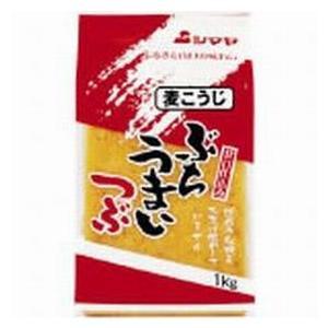 【山口県】【周南市都町】【シマヤ】麦みそ・ぶちうまい粒500g(10000691)|yamaguchikaiseidou