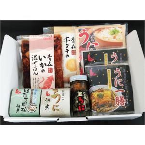 贅沢おうちご飯セット(うに・ほたて・いか)|yamaharu808
