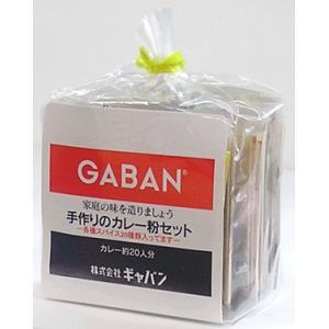 【カレー スパイス セット】ギャバン 手作りのカレー粉セット 100g