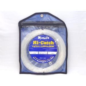 モモイ ナイロンリーダー 150号(400lb)ソフト 100m ハイキャッチ カジキ ビッグゲーム|yamakazufishing