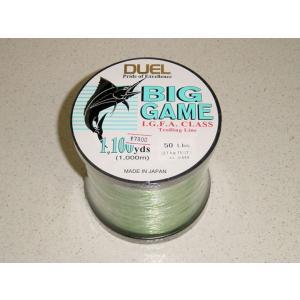 DUEL ビッグゲーム 50lb 1000m グリーン カジキ ビッグゲーム|yamakazufishing
