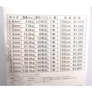 ロングライフクッション 4mm×1m 人徳丸 最強クッションゴム|yamakazufishing|02